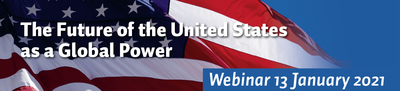 Webinar Future of the US as Global Power